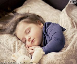 Rompicapo di Ragazza che dorme