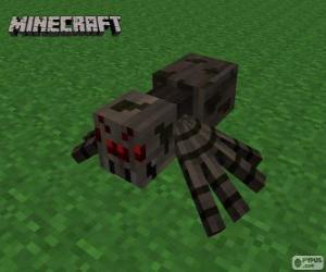Rompicapo di Ragno, una delle creature di Minecraft