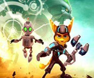 Rompicapo di Ratchet e Clank robot