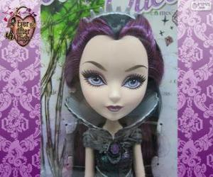 Rompicapo di Raven Queen, leader del Rebels in Ever After High