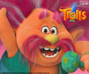 Rompicapo di Re Peppy, capo dei troll