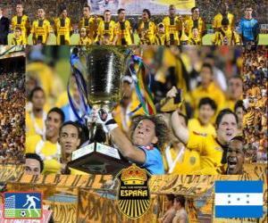 Rompicapo di Real Club Deportivo España Campione Apertura 2010 (Honduras)