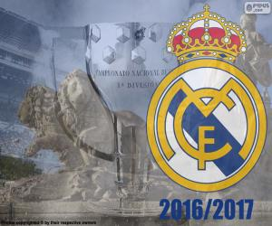 Rompicapo di Real Madrid, campione 2016-2017