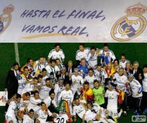 Rompicapo di Real Madrid campione Copa del Rey 2013-2014