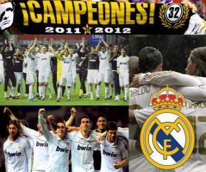 Rompicapo di Real Madrid campione del campionato spagnolo di calcio 2011-2012