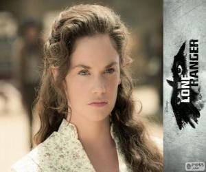 Rompicapo di Rebecca Reid (Ruth Wilson) nel film Lone Ranger