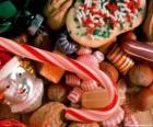 Vari dolci - Caramelle, caramelle di bastoni