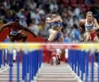 Ostacoli, atleta nil passaggio di una barriera