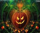 Zucca tipica di Halloween