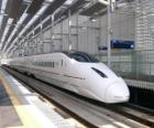 Treni ad alta velocità in giapponese (Shinkansen)