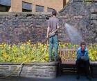 Giardiniere di irrigazione
