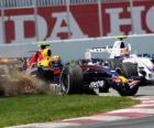 Mark Webber pilota il F1
