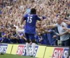 Didier Drogba celebrazione dell gol