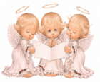 Tre angeli cantare