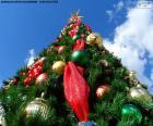 Albero di Natale con palline di Natale