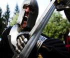 Guerrieri combattendo una battaglia