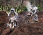 Motocross molto fango