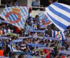 Bandiera di R.C.D. Espanyol