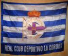Deportivo de La Coruña bandiera