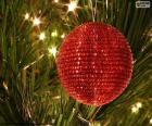 Palla lucida di Natale
