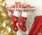Camino di Natale calzini