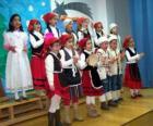 I bambini cantano canti natalizi