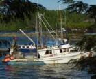 Piccola barca di pescatori