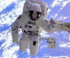 Astronauta missione spaziale