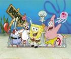 SpongeBob e alcuni dei suoi amici