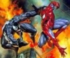 Combattimenti o Spiderman Venom