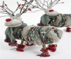 Bambole Pretty renne di Natale
