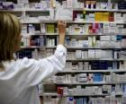 Farmaceutica di assumere un farmaco
