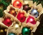 Contenitore di palle di Natale