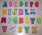 Lettere maiuscole, alfabeto