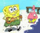 SpongeBob alle Hawaii