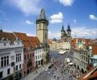 Centro storico di Praga, Repubblica ceca.