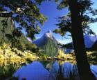 Te Wahipounamu - sud-occidentale della Nuova Zelanda.