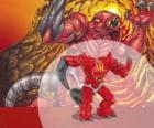 Magmion il signore del vulcano (Serie 1) (Magma) (Potenza 9)