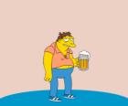 Barney Gumble regolari patron del bar di Boe
