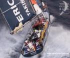Barca a vela nella Volvo Ocean Race