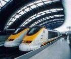 Treno Eurostar ad alta velocità
