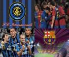 Coppa dei Campioni d'Europa - UEFA Champions League semifinale 2009-10, FC Internazionale Milano - Fc Barcelona
