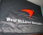 Bandiera di McLaren F1