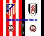 Europa League Final 2.009-10 Atletico Madrid contro il Fulham FC