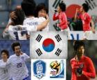 Selezione della Corea del Sud, del Gruppo B, Sud Africa 2010
