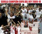 Campione del Sevilla Copa del Rey 2009-2010