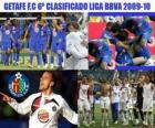 Getafe FC BBVA sesto classificato League 2009-2010