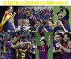 FC Barcelona campione del BBVA League 2009-2010
