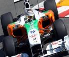 Force India Adrian Sutil - - Monte-Carlo 2010