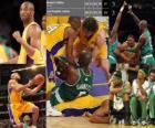 Finale NBA 2009-10, 6 º Partido, Boston Celtics 67 - Los Angeles Lakers 89
